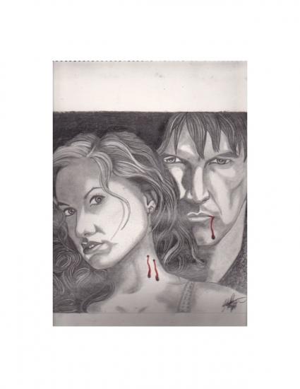 Stephen Moyer, Anna Paquin por TraylorHiryu
